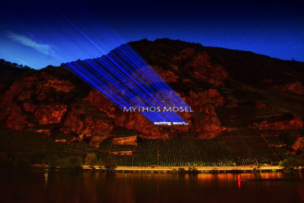 Lasershow in den Steillagen der Mosel (c) Chris Marmann