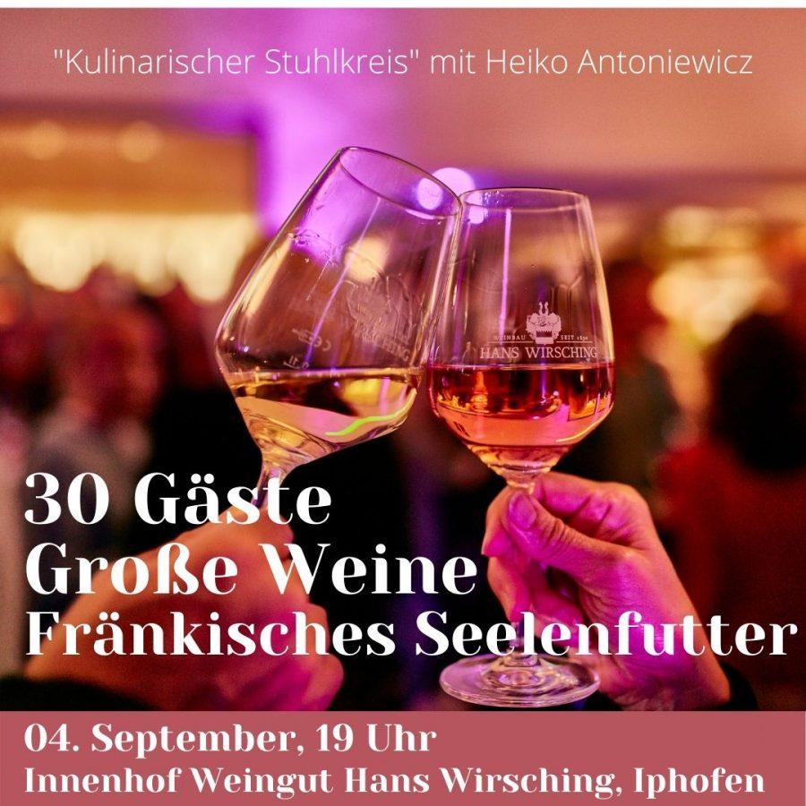 KULINARIK KISTE WINEMAKERS' JOURNEY Weingut Hans Wirsching